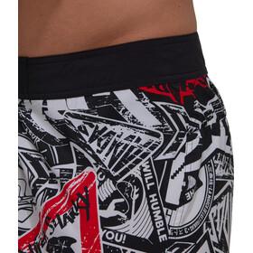 adidas Badge up Tech Cassic Length Shorts Men, negro/blanco